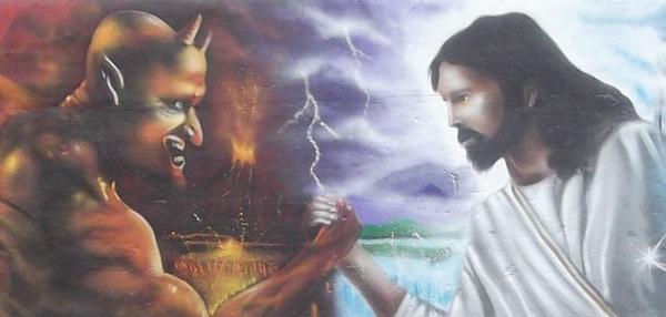 Jesus X Diabo 0